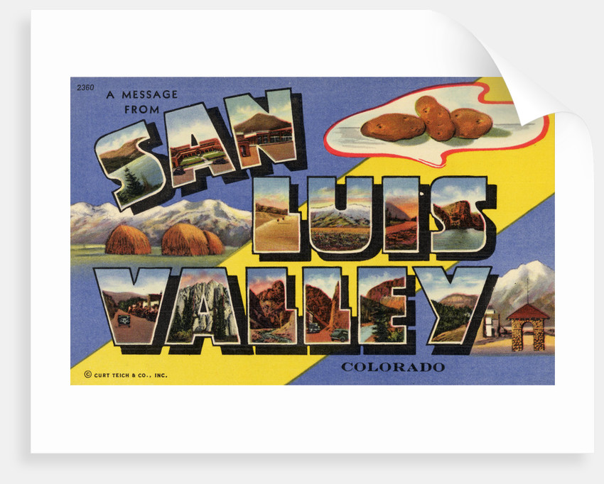 Greeting Card from San Luis Valley by Corbis