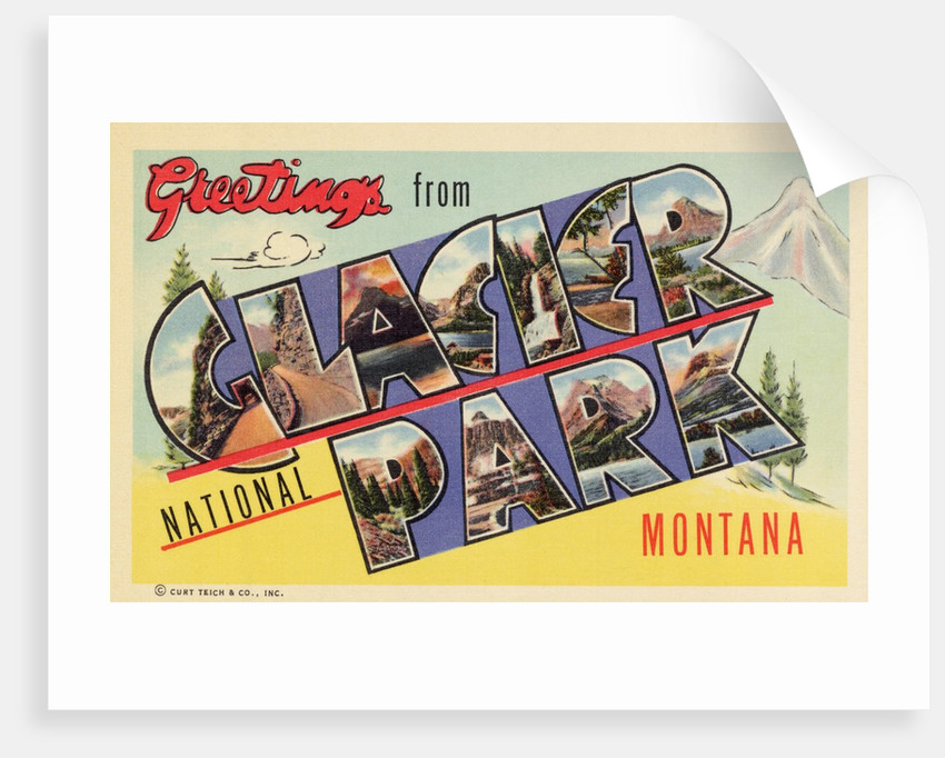 Greeting Card from Glacier National Park by Corbis