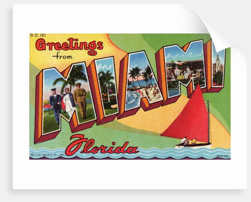 Greeting Card from Miami, Florida by Corbis