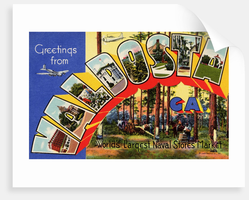 Greeting Card from Valdosta, Georgia by Corbis