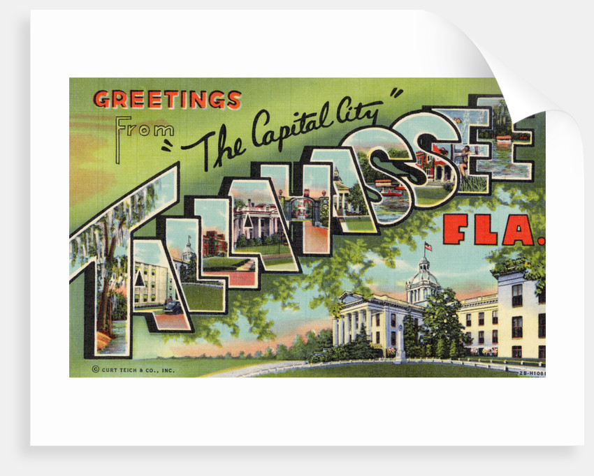 Greeting Card from Tallahassee, Florida by Corbis
