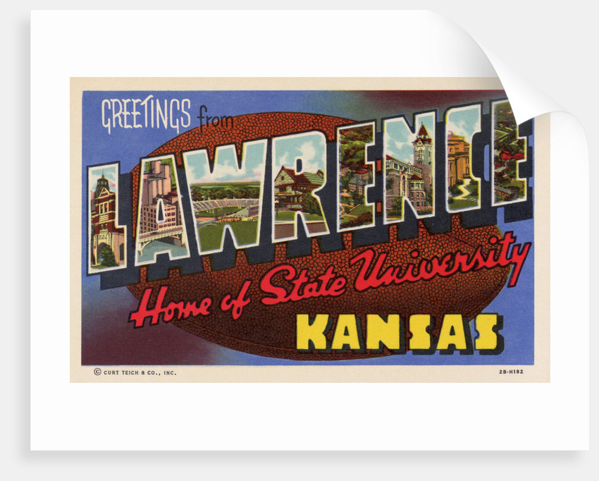 Greeting Card from Lawrence, Kansas by Corbis