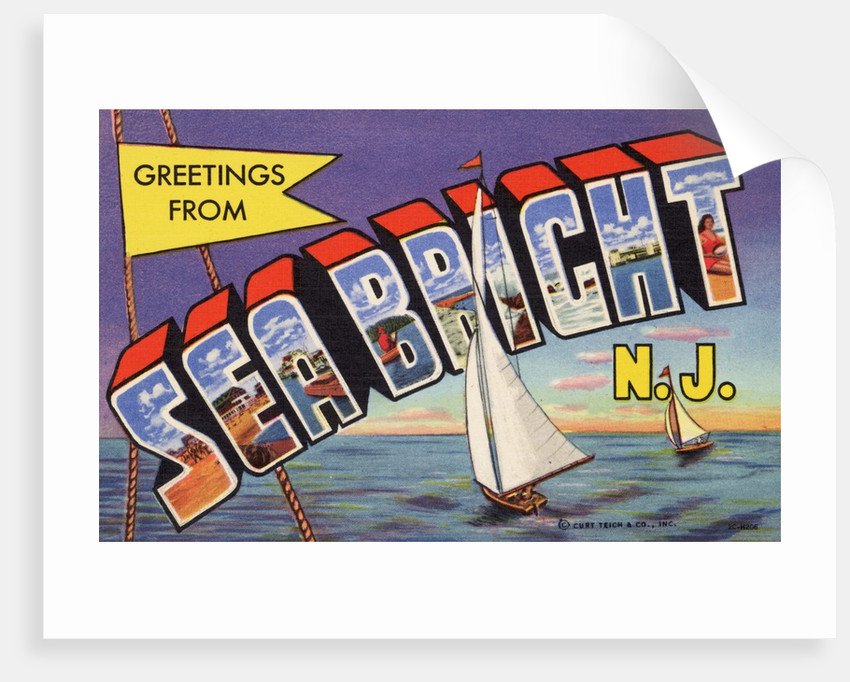 Greeting Card from Sea Bright, New Jersey by Corbis