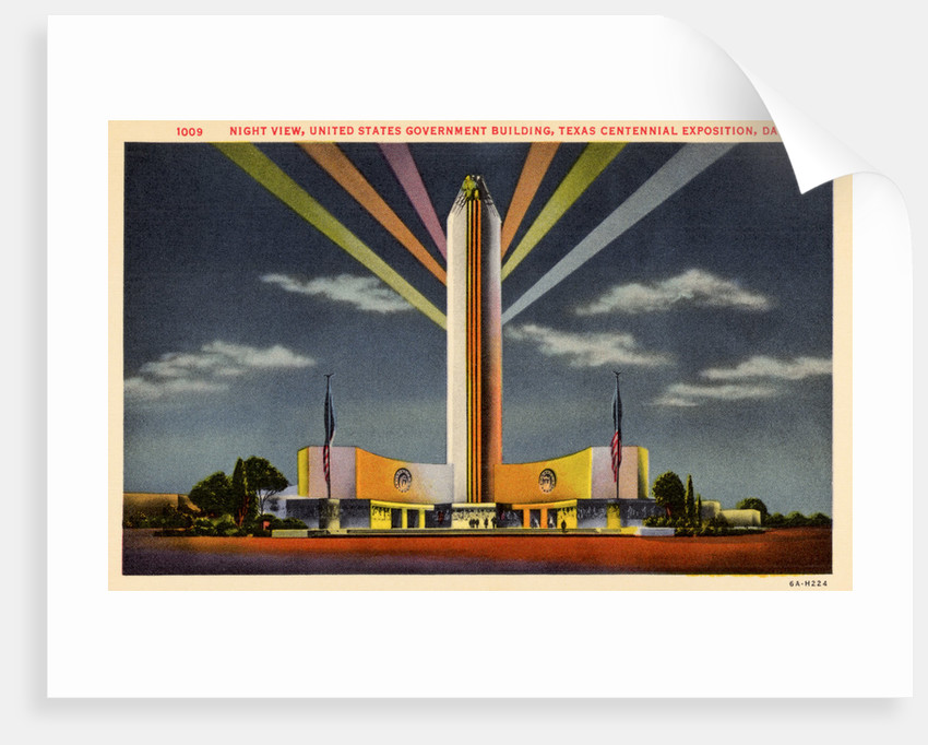 Government Building at Texas Centennial Exposition by Corbis