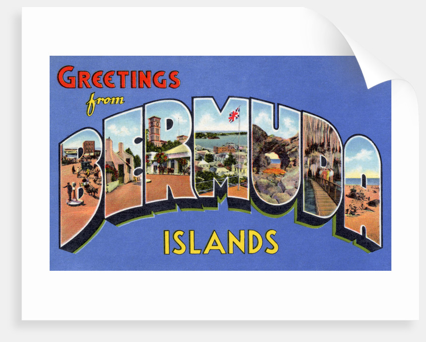 Greeting Card from Bermuda Islands by Corbis