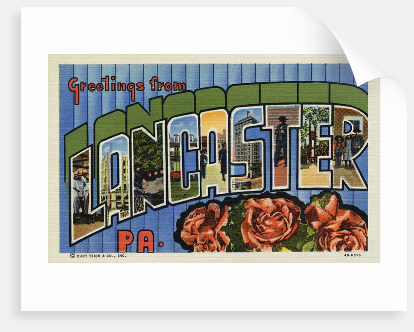 Greeting Card from Lancaster, Pennsylvania by Corbis