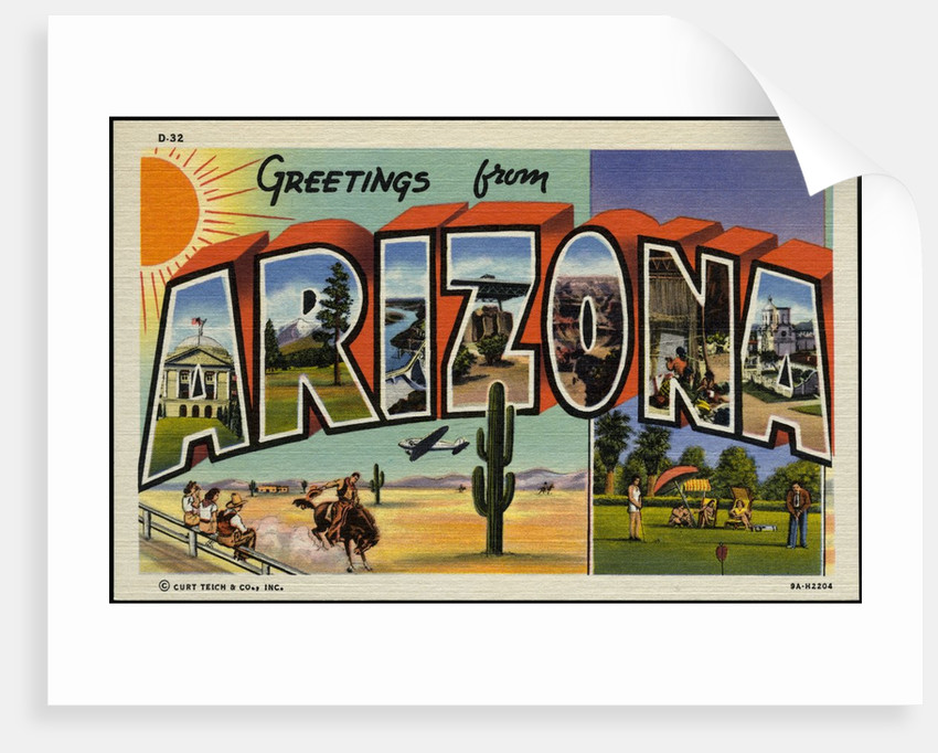 Greeting Card from Arizona by Corbis