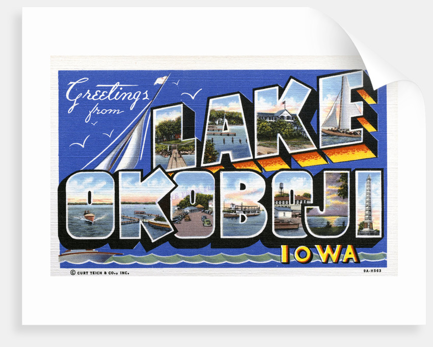 Greeting Card from Lake Okoboji by Corbis
