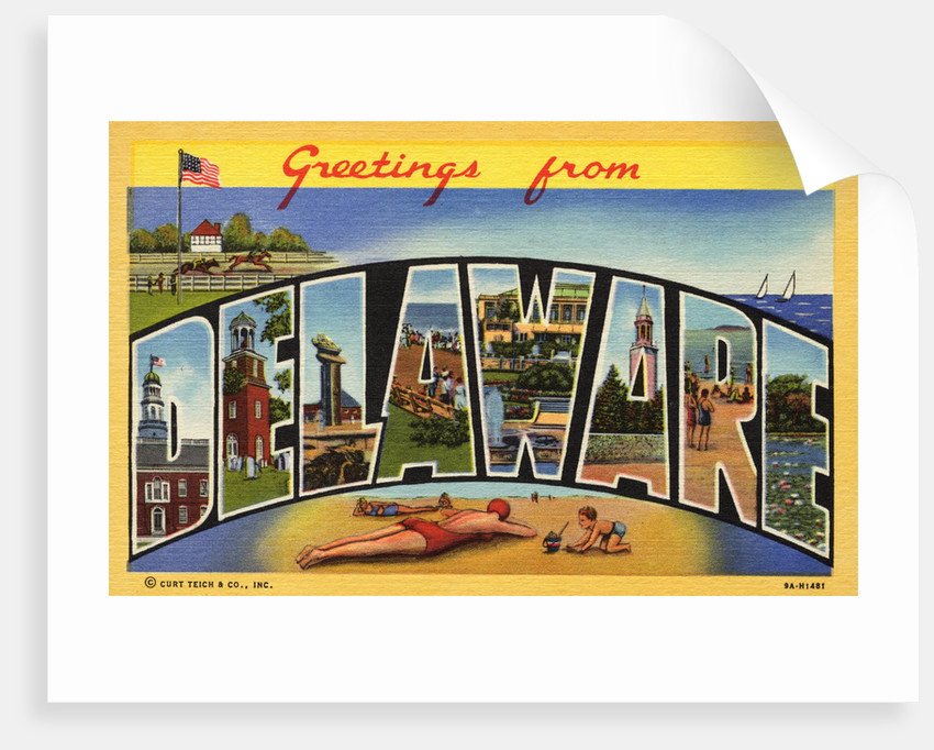Greeting Card from Delaware by Corbis