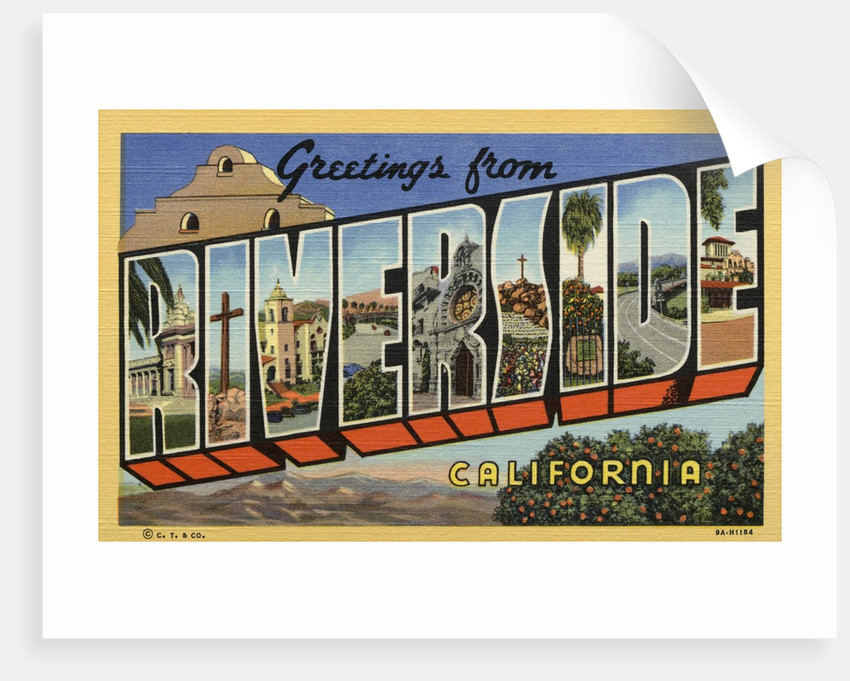 Greeting Card from Riverside by Corbis