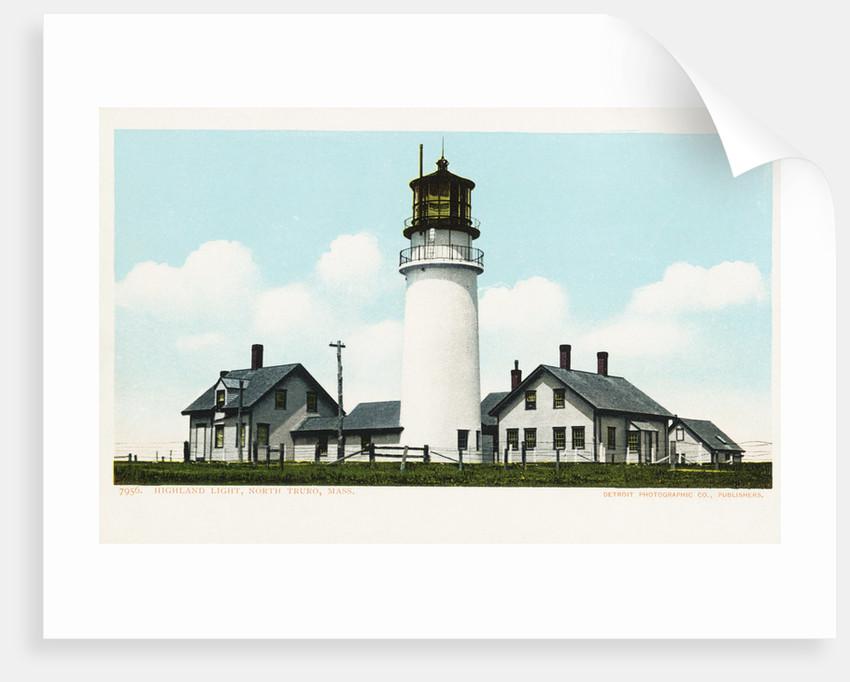 Highland Light, North Truro, Mass. Postcard by Corbis