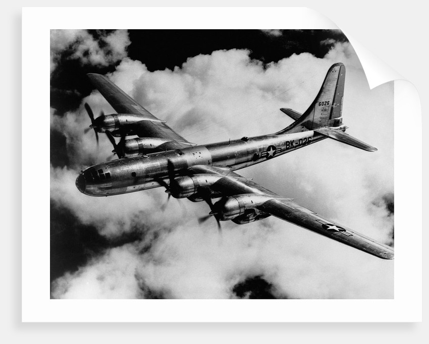 Boeing B-50A Superfortress in Flight by Corbis