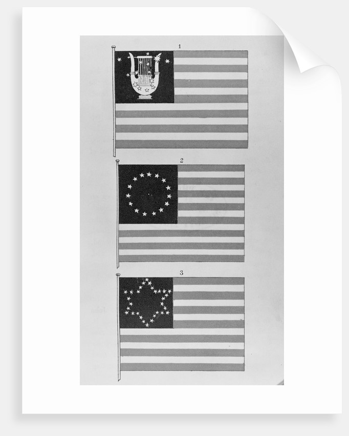 Display of Flags by Corbis