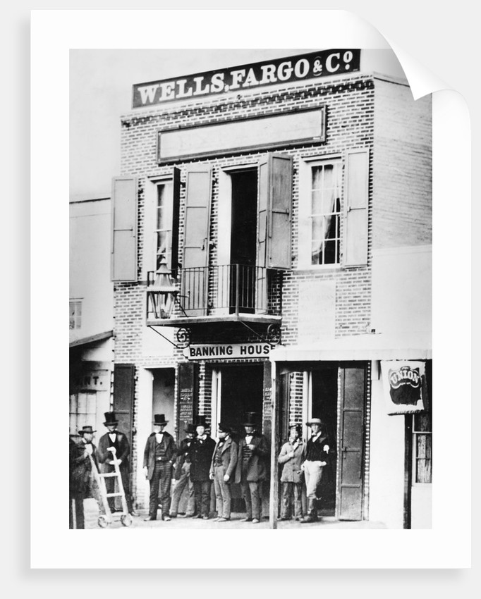 First Office of Wells Fargo Bank by Corbis