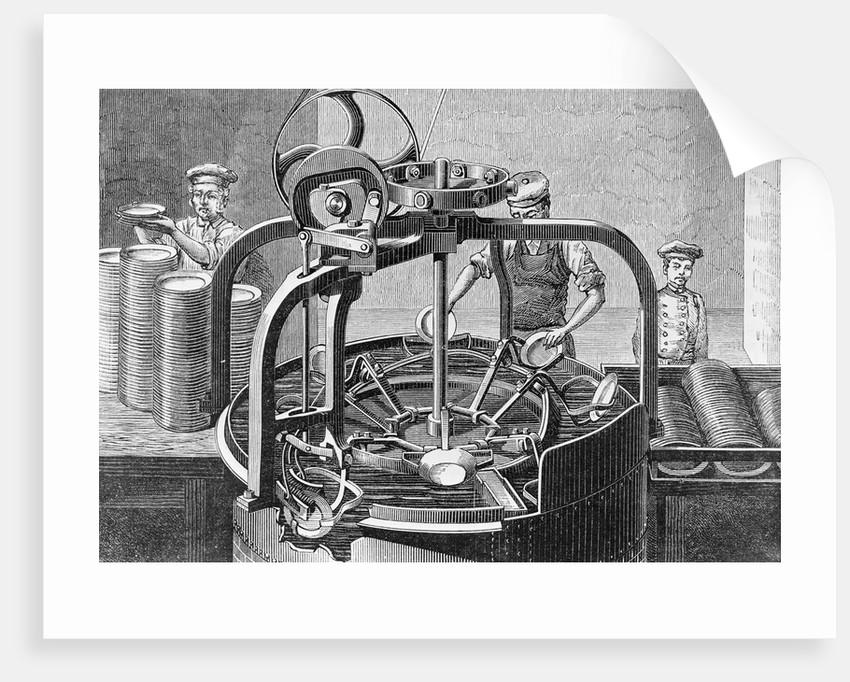 Automatic Dishwashing Machine by Corbis
