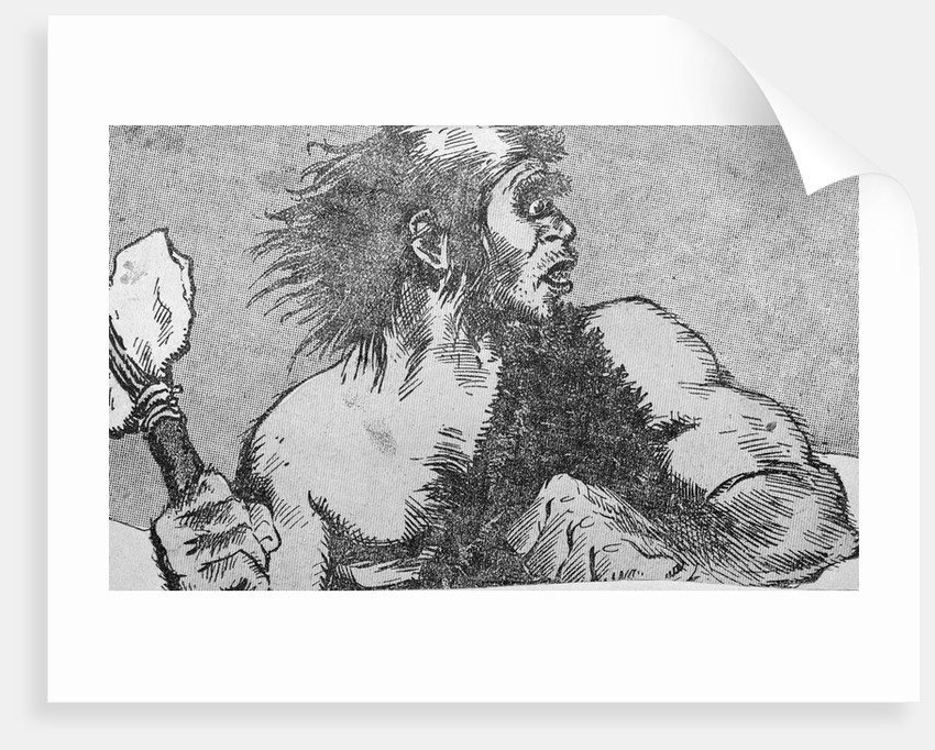 Illustration of a Caveman by Corbis