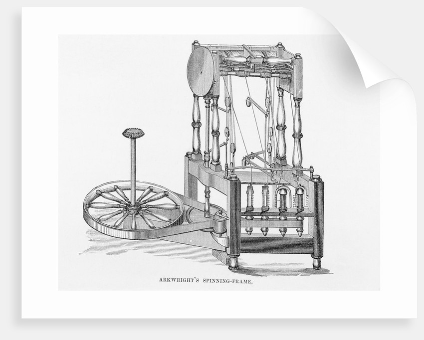 Arkwright\'s Spinning Frame posters & prints by Corbis