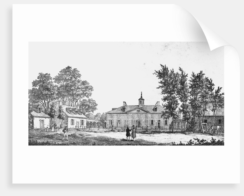 Exterior of George Washington's Estate by Corbis