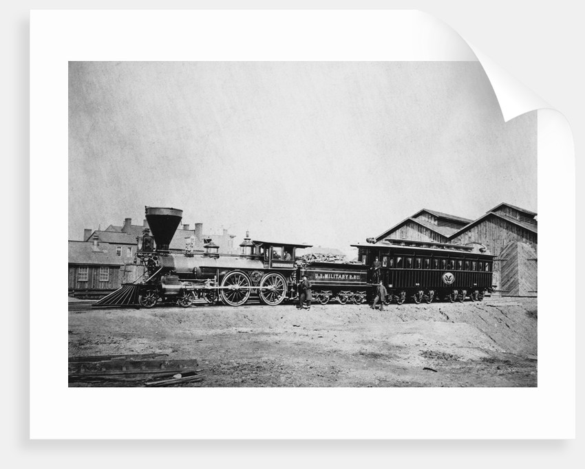 President Abraham Lincoln's Funeral Train by Corbis