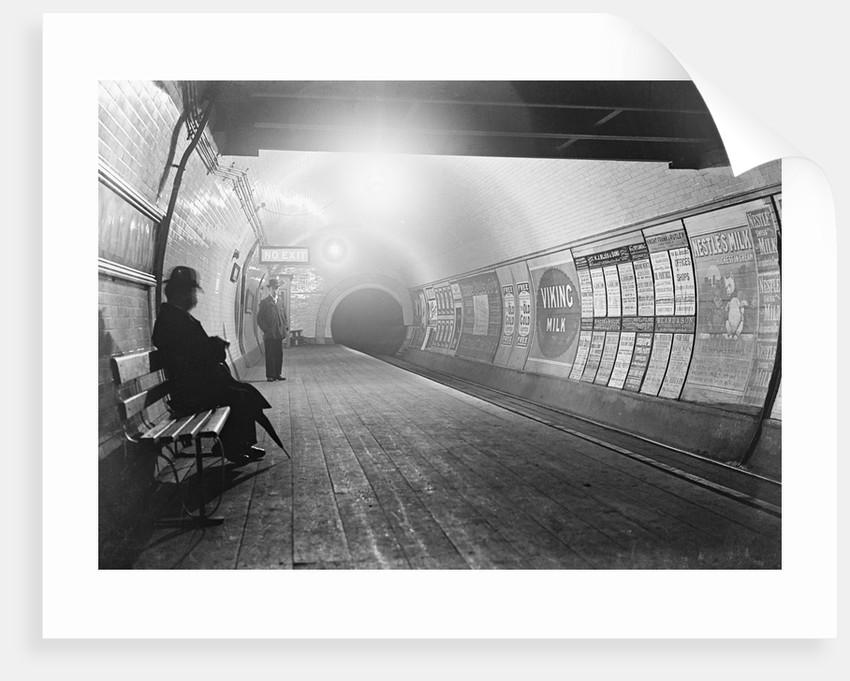 Interior of London Subway by Corbis