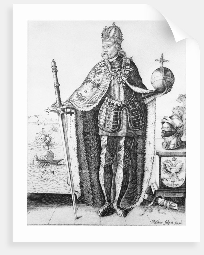 Charles V in Elaborate Dress by Corbis