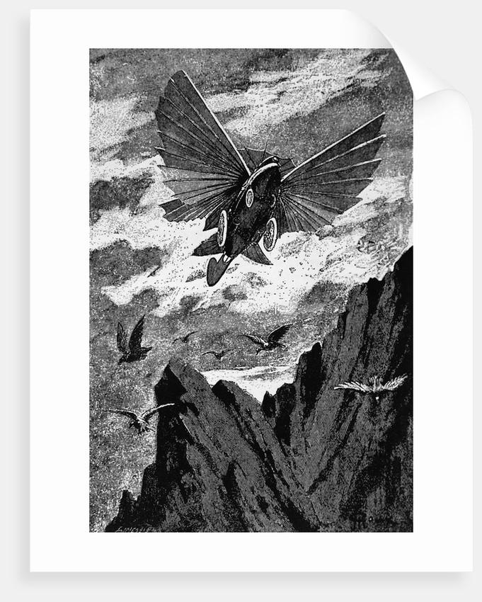 Image result for jules verne illustration
