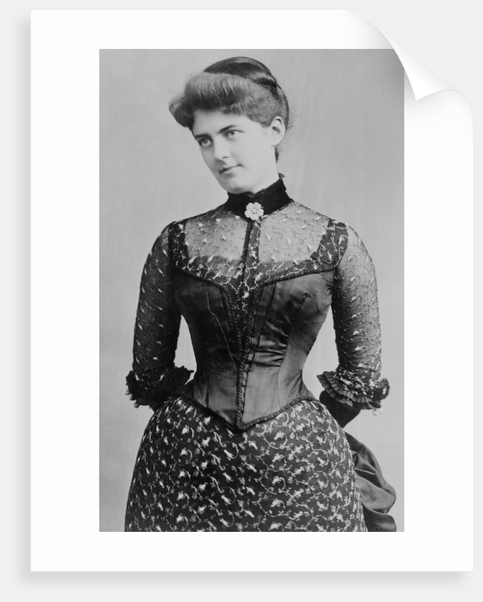 Portrait of Mrs. Grover Cleveland by Corbis
