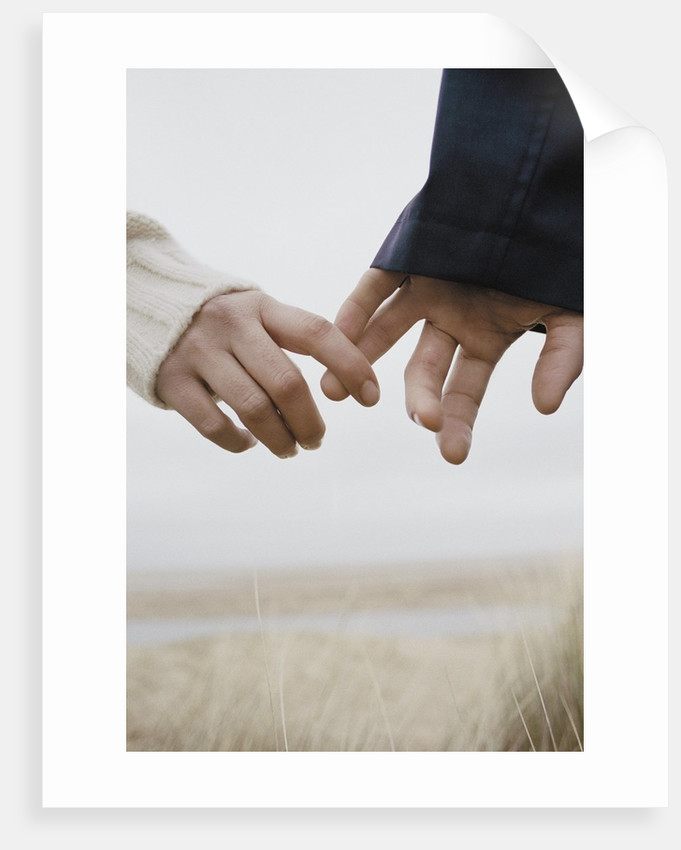 Couple Holding Hands by Corbis