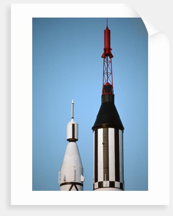 Mercury Space Capsule on Rocket by Corbis