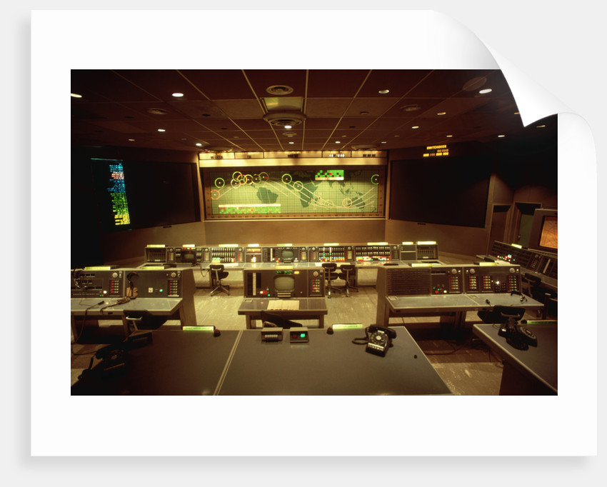 NASA's Old Mission Control Center by Corbis