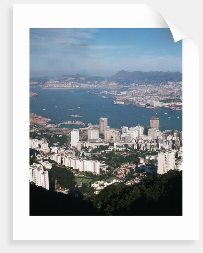 Hong Kong from Victoria Peak by Corbis