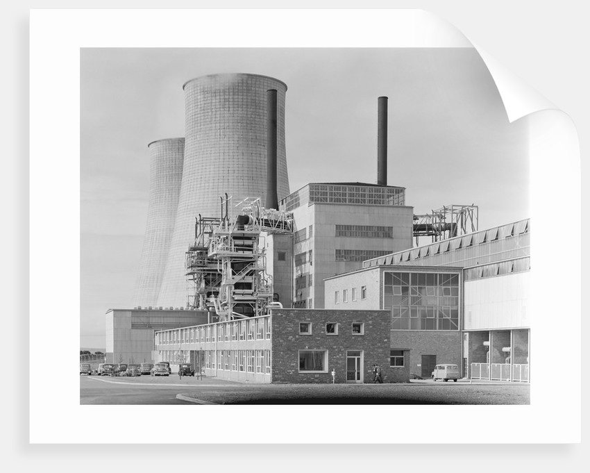 Calder Hall Nuclear Power Plant by Corbis