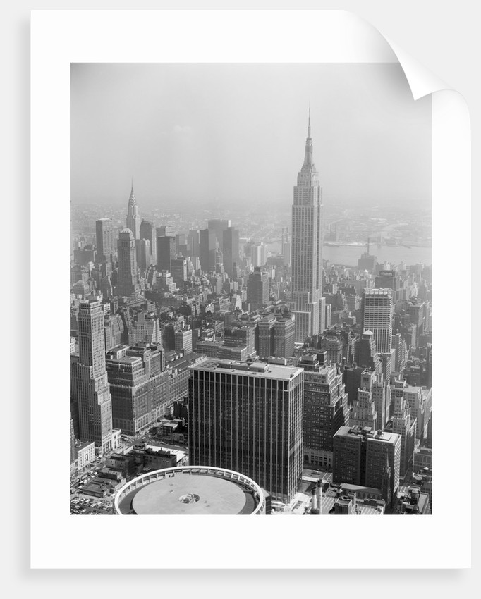Empire State Building and City Center by Corbis