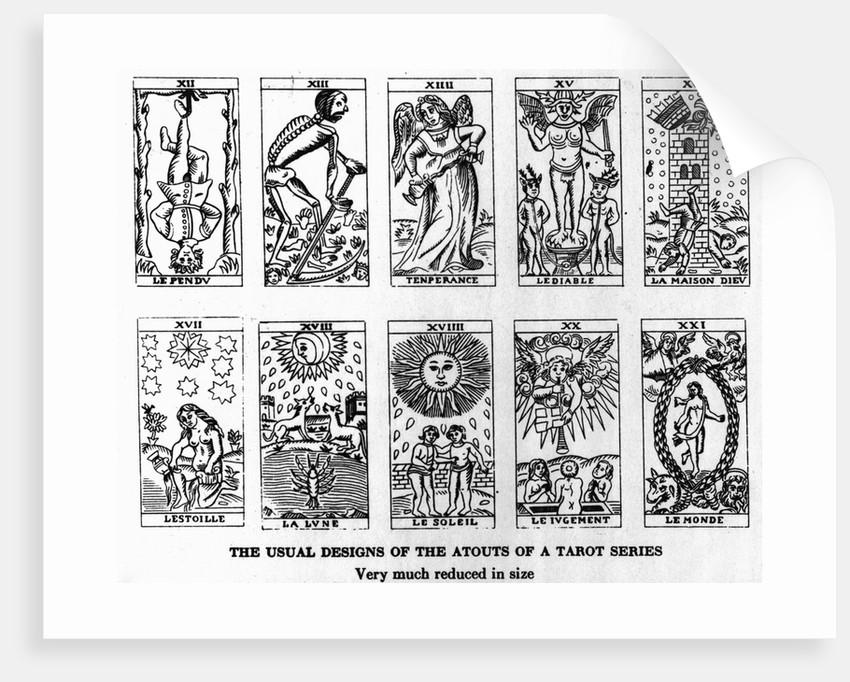 Illus Of Tarot Cards by Corbis