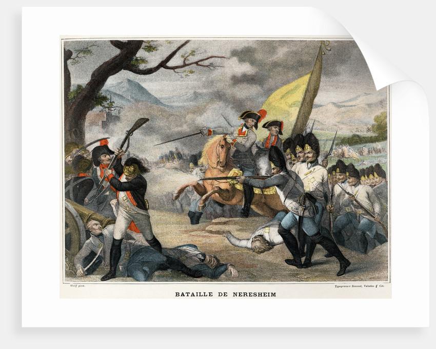 Bataille de Neresheim by Friedrich Wolf