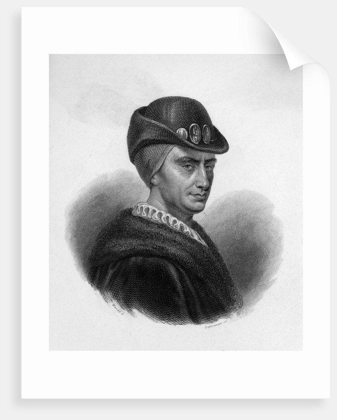 Portrait of King Louis XI by Corbis