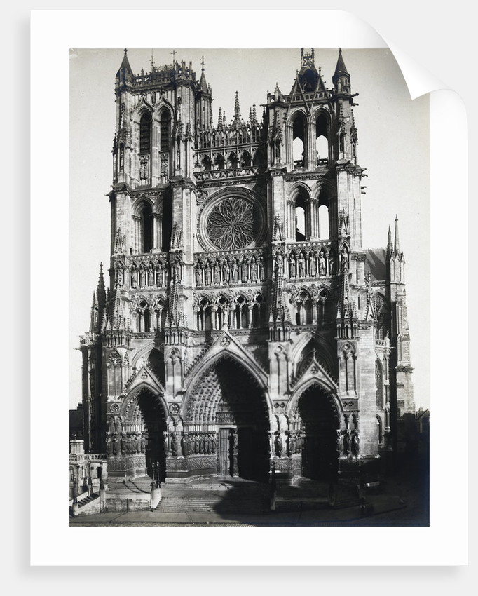 Exterior of the Amiens Cathedral by Corbis
