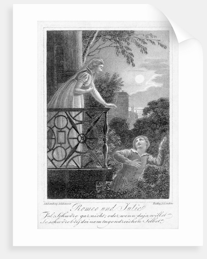 Balcony Scene from Romeo And Juliet by Corbis