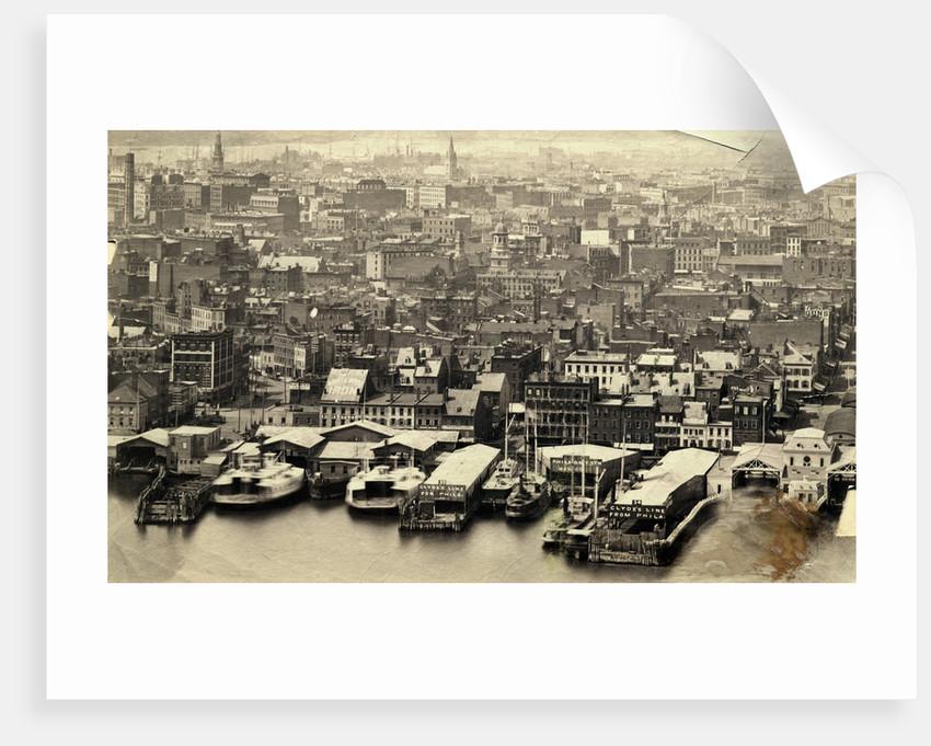 New York Harbor by Corbis