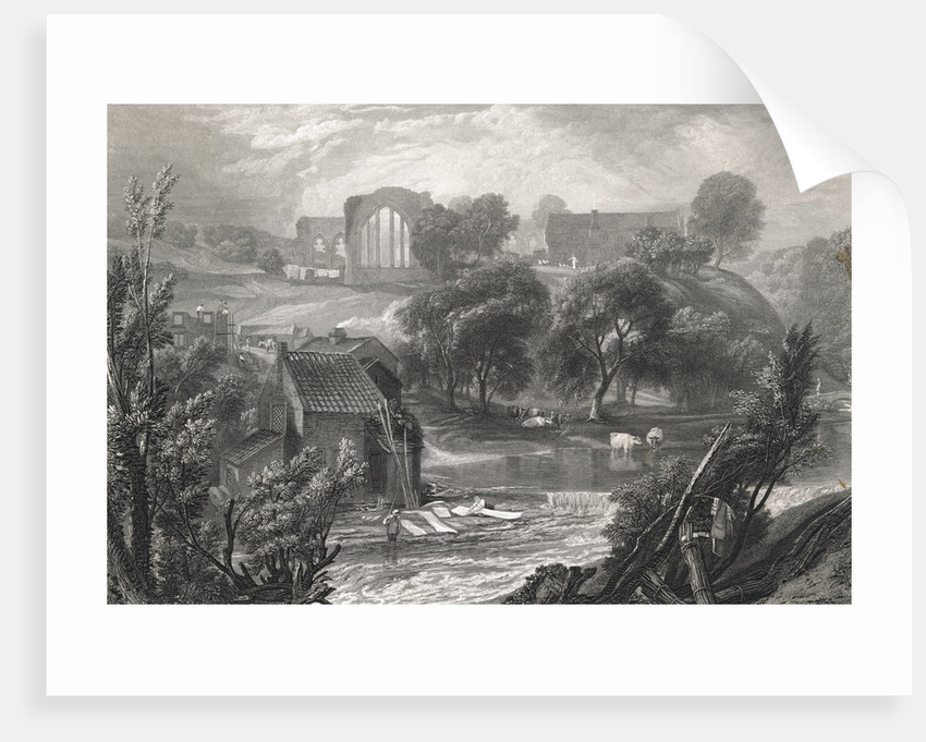 An English Country Scene by Corbis