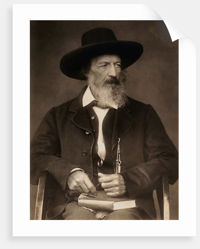 Alfred Tennyson by Corbis