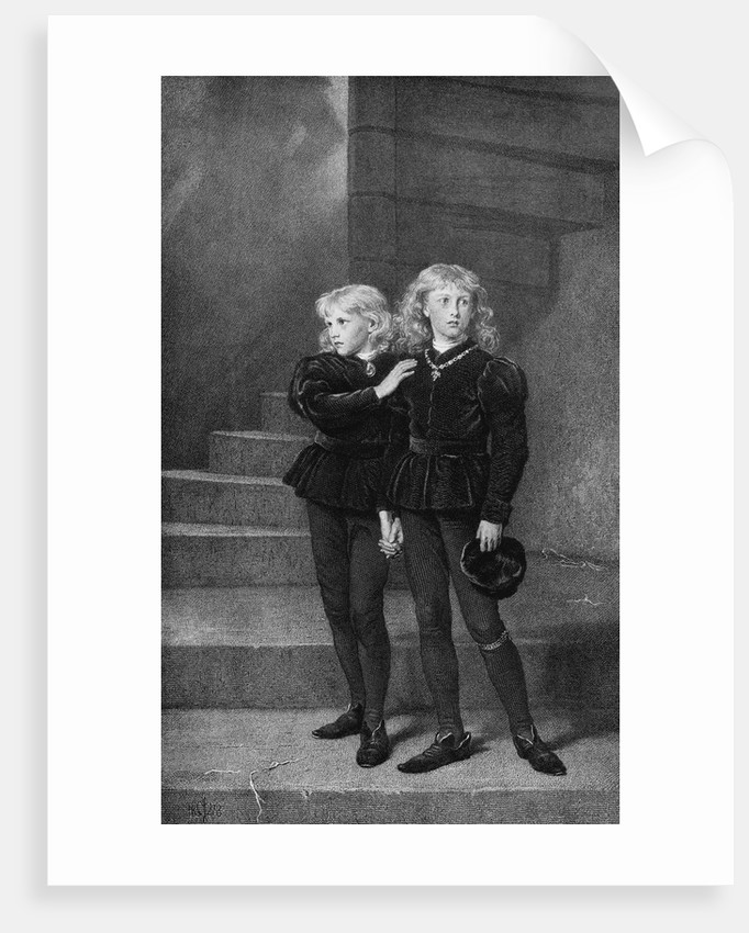 English Princes Looking Frightened by Corbis