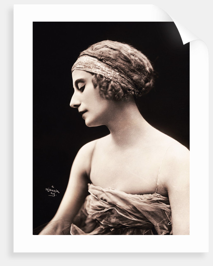 Portrait of Anna Pavlova by Corbis
