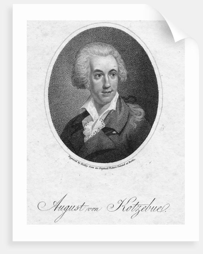 August Von Kotzebe by Corbis