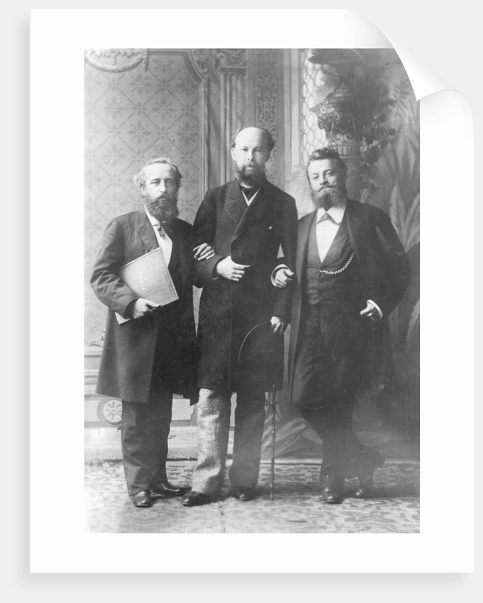 Paul Joukowski with Coworkers by Corbis
