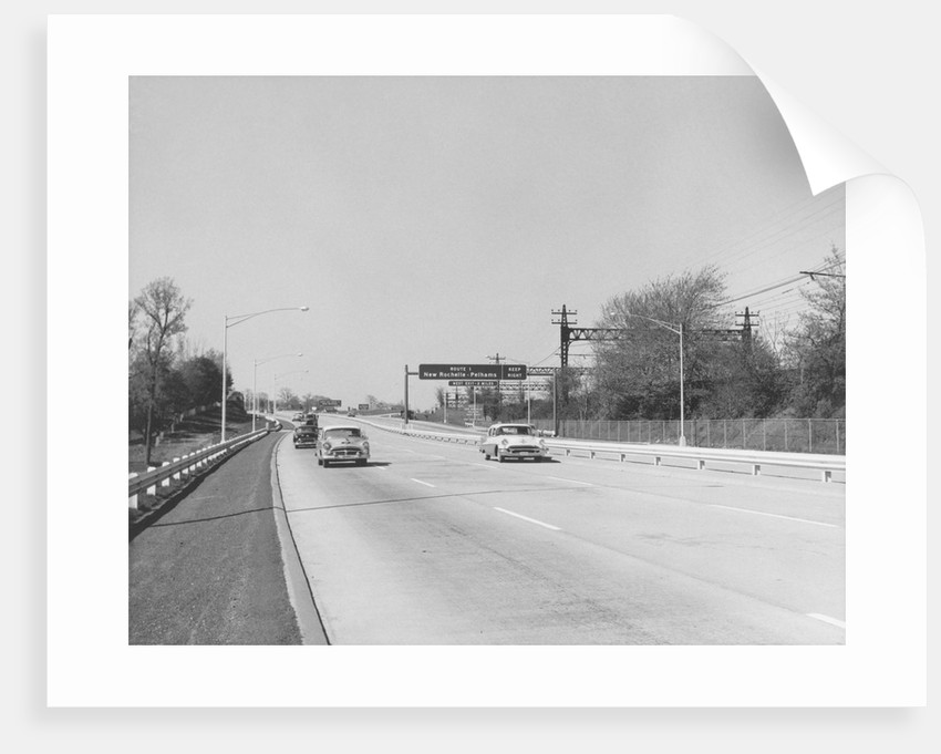 Cars on Highway by Corbis