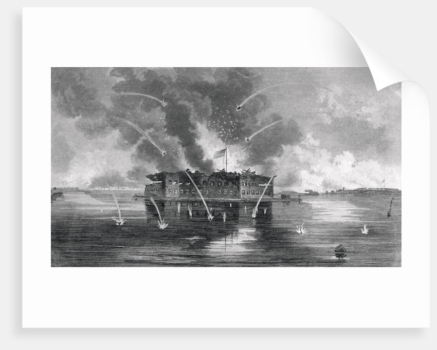 Bombardment of Fort Sumter by Corbis