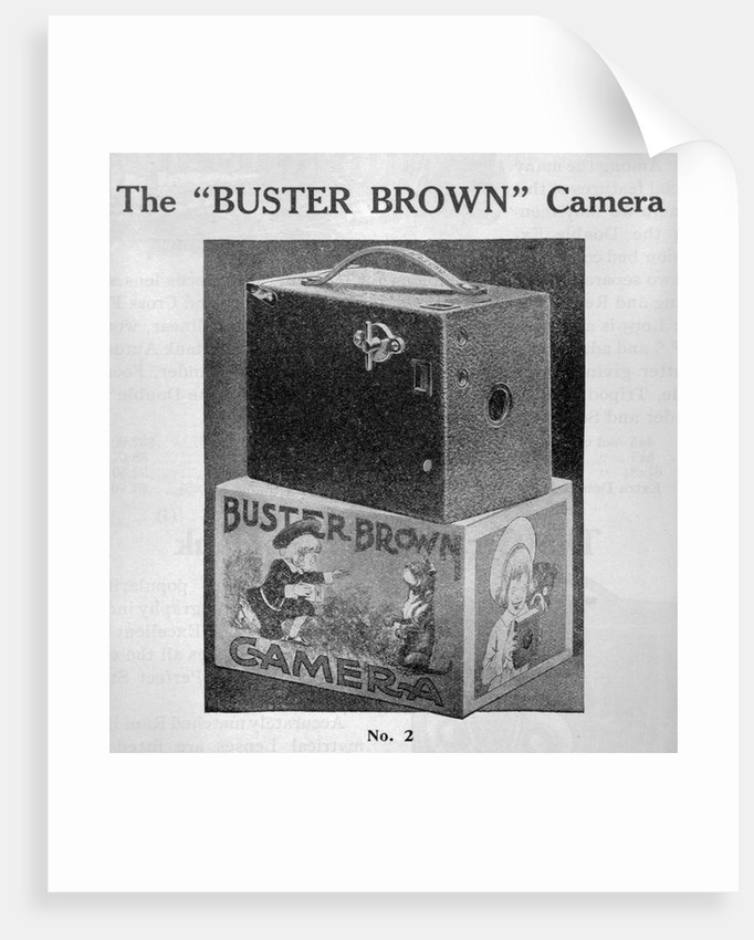 Advertisement for Ansco Camera by Corbis