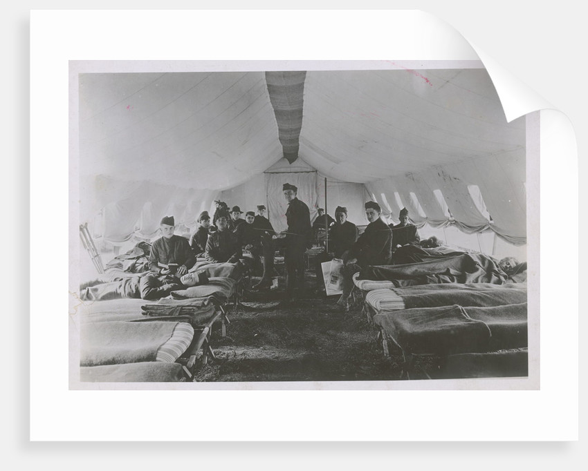 French Field Hospital During World War I by Corbis