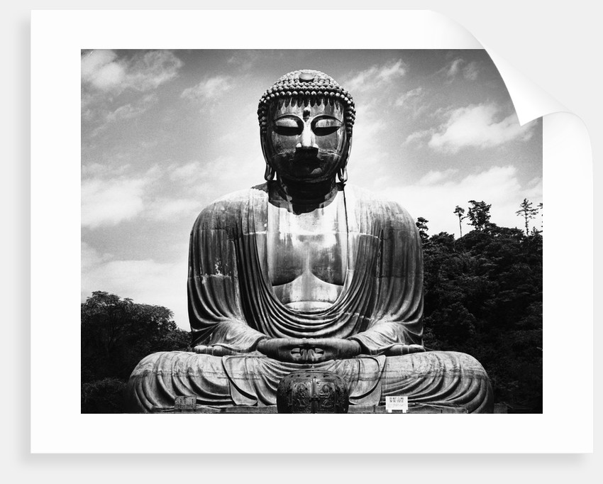 Great Buddha of Kamakura by Corbis